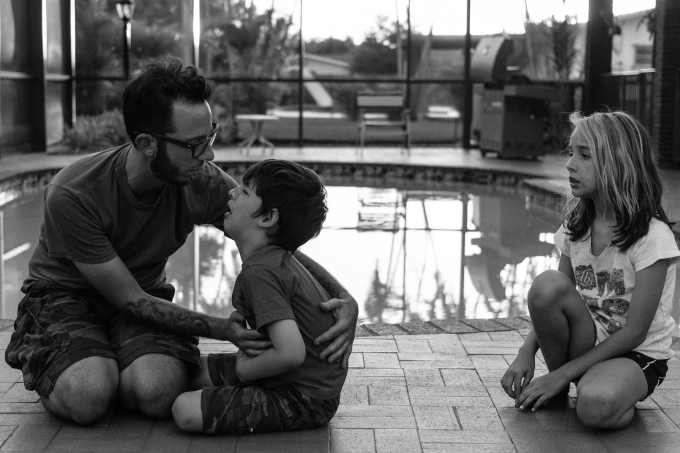 Project 52 - Weekenders People: No. 1 - Father and children
